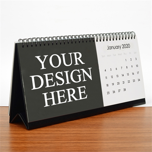 Personalized Custom Imprint Promotional Photo Desk Calendar
