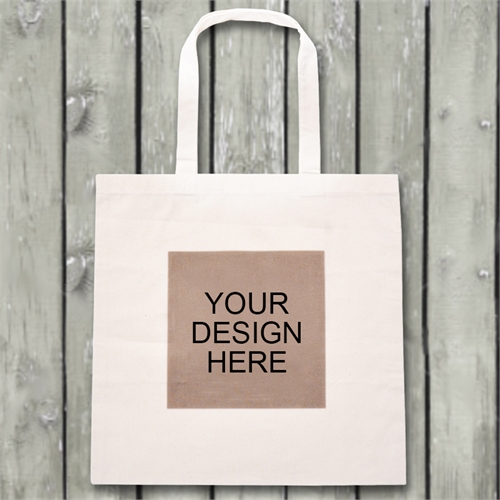 Customize Your Own Budget Tote Canvas Bag
