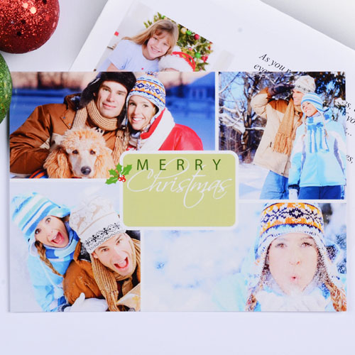 Print Your Own Winter Harmony Cards