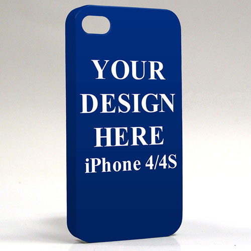 Personalized Design 3D iPhone 4/4S Slim Case