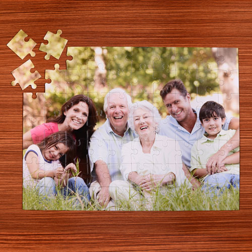 18X24 Personalized 70 or 252 or 500 piece Puzzle