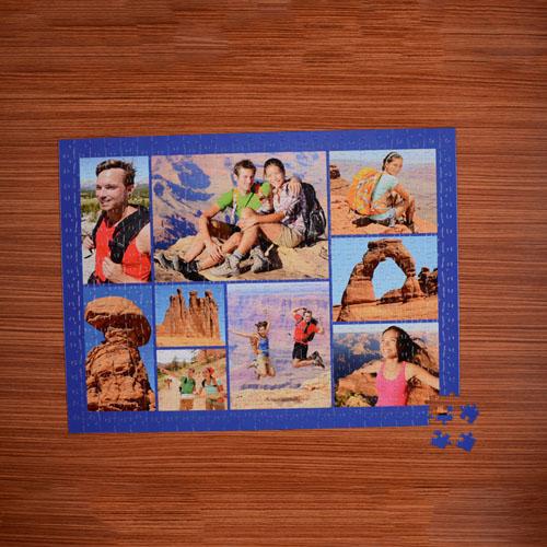 Navy Nine Collage 18 X 24 Photo Puzzle