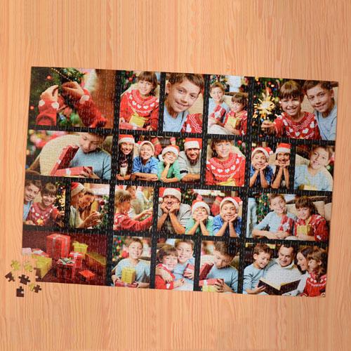 Black Twenty Collage 1000 Piece 19.75