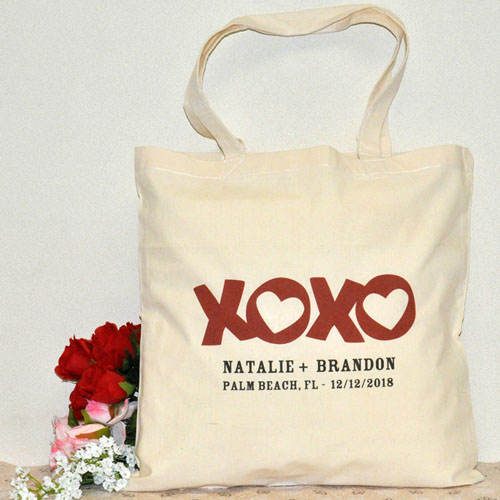 Xoxo Custom Cotton Tote Bag