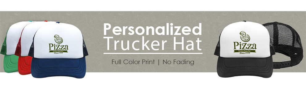 Personalized Trucker Hats