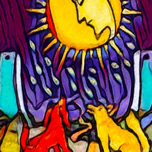 Canvas Waite Tarot Deck