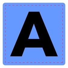 Musicolor ABC letter cards