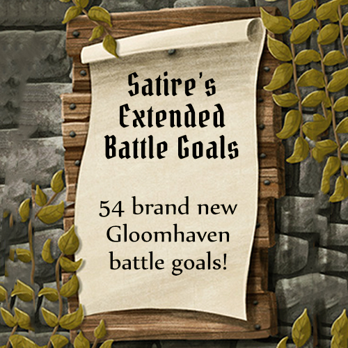 Satire's Extended Gloomhaven Battle Goals (v1.0)