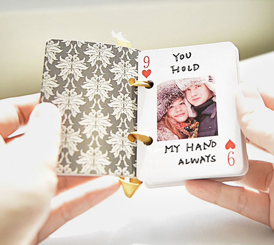 Valentine's DIY Gift: 52 Reasons Why I Love You Deck of Cards