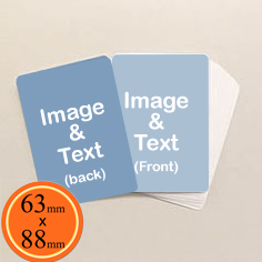 63mm x 88mm cards