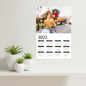 Make your own Printable Calendars with Photos on Online Creator