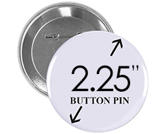 2.25 inch Button Pin