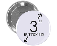 3 inch Button Pin