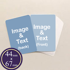 "1.73"" x 2.64"" cards"