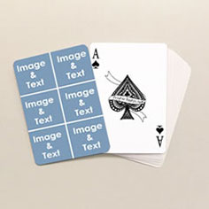 picture playing cards