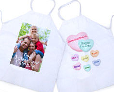 personalized adult apron
