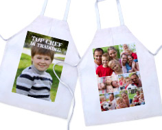personalzied kids apron