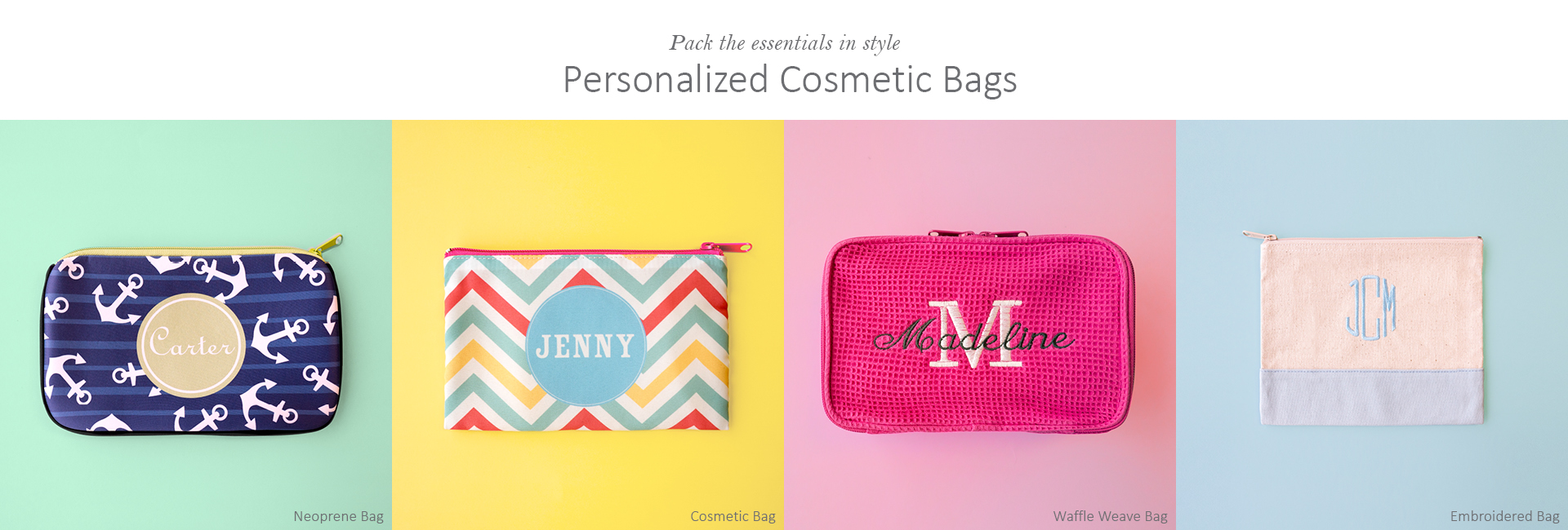 Unleash Your Creativity And Style Store All Beauty Daily Necessities In One Place Save 25 On Our Selection Of Cosmetic Bags Different