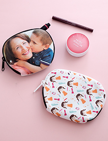 Make personalized photo gifts online printed cards gift ideas design cosmetic bags photo cards reheart Image collections