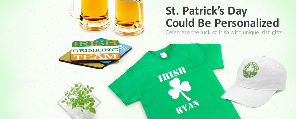 Personalized your ST PATRICK