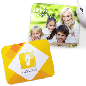 your photo on personalized mousepads to pad your mouse