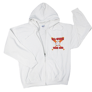 cacf43747 Design your own hoodie top with a front zipper.